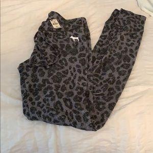 PINK cheetah joggers